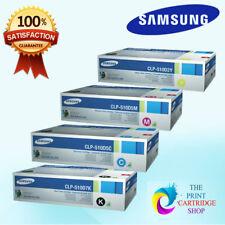 New Original Samsung CLP-510D5M CLP-510D2Y CLP-510D5C CLP-510D7K Full Toner Set