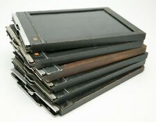 "Vintage Set Of 6 Kodak & Ansco (5+1) 5x7"" Wooden Cut Film Holders. Made In USA."