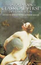 (Good)-The Oxford Book of Classical Verse in Translation (Oxford Books of Verse)