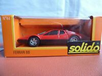 Solido GAM2 FERRARI BB RED 1:43 Boxed NEW VINTAGE TOY CAR RARE COLLECTIBLE 44