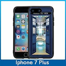 Open Door Tardis For Iphone 7 Plus (5.5) Case Cover By Atomic Market