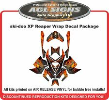 Grim Reaper Wrap  for Ski-doo XP 2008 -12  mxz  summit  renegade  decal