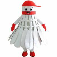 Shuttlecock Mascot Badminton Costume Dress Christmas Hallowen Birthday Gifts