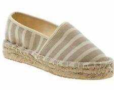 Report Limone Natural Espadrille Slip On Flats Shoes 10M 10 NIB $49.