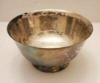 """Vintage International Silver Co. Silverplated Serving Bowl 5"""" Across x 3"""" Tall"""