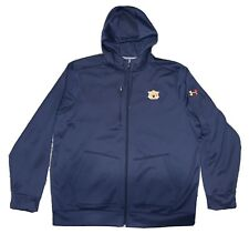 Under Armour AUBURN FOOTBALL Team Issued Full-Zip Jacket 2XL 2X XXL