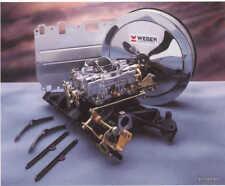 ROVER V8 3.5/3.9 WEBER 4 BARREL CARBURETTOR,MANIFOLD,AIR FILTER & FITTINGS