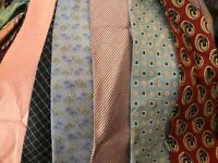 Bulk Lot 50 Pcs Neckties Craft Quilting Vintage Modern Wear Tie Lots Free Ship