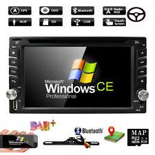 FreeCamera GPS Navigator Car Radio Stereo CD DVD Player MP3 Bluetooth for Nissan