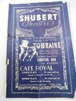 "Shubert Theatre ""The Wingless Victory"" With Katherine Cornell Program 1937"