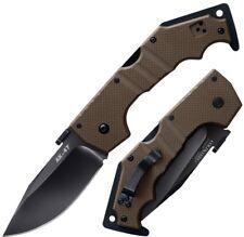 "Cold Steel AK-47 3.5"" Flat Carpenter CTS Steel Dark Earth G10 Handle 58TLAKVF"