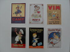 Advertising - 6 different modern Mabel Lucie Attwell postcards