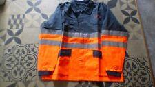 VÊTEMENTS VESTE BLOUSE de travail Sonorco gris et orange T 5 180-188
