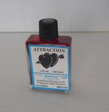 7 sisters Oil ATTRACTION 1/2 oz 14 ml  (attract love,money,luck ect.)