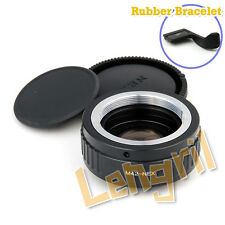 FOR M42 Lens to Sony NEX A6300 A7RII A7 Focal Reducer Speed Booster Adapter