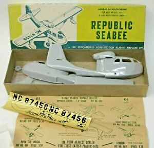 circa 1949 issue Olin #503 REPUBLIC SEABEE 1/48 model kit mint