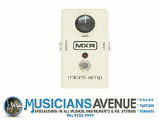 MXR M-133 MICROAMP EFFECTS PEDAL
