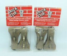 "Brick Clip Standard Size 8 Clips fits brick 2 1/8"" to 2 1/2"" in height New"