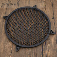 New listing 12 Inch Subwoofer Speaker Covers Waffle Mesh Grill Grille Protect Guard