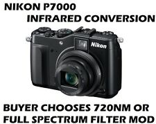 NIKON P7000  - Full Spectrum or 720nm Infrared Digital Camera  - RAW IMAGE MODE