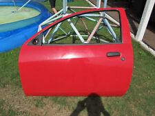 Ford KA Tür links rot aus 2001er Ford Ka (RBT - 1,3er)