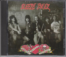 SLEEZE BEEZ Screwed Blued & Tattooed 1990 Atlantic CD Rock in the Western World