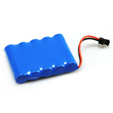 4 pcs AA 6V 1400mAh RC Ni-Cd Toy Car Rechargeable Battery SM 2Pin Plug Blue
