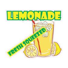 Food Truck Decals Lemonade Fresh Squeezed Concession Die Cut Vinyl Sticker