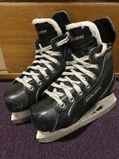Bauer Supreme 120 Hockey Skates - Youth Size 1-Used In Good Condition