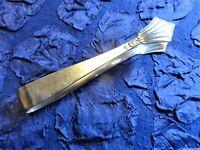 WMF 900 Fächer-Muster - 1 Zuckerzange - 10 cm - Silber-90-plated- / Erh. 3