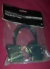 New TI-99/4A TI99/4 SERIAL RS-232 Y-CABLE T.I. Home Computer PHA2620