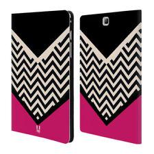 Carcasas, cubiertas y fundas negro Galaxy Tab A piel para tablets e eBooks
