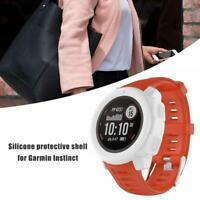Lightweight Silicone Protective Case for Garmin Instinct Smart Sports Watch