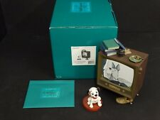 WDCC 101 Dalmatians ~ Lucky and TV ~ COME ON LUCKY...~ Box & COA