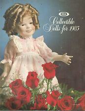 IDEAL CATALOG-COLLECTABLE DOLLS FOR 1983