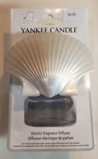 YANKEE CANDLE SCENTPLUG DIFFUSER SCALLOP SHELL - NEW with Package