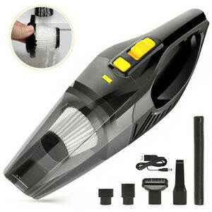 120W Portable Cordless Car Vacuum Cleaner Wet Dry Handheld 12V Rechargeable Home