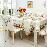 Lace Floral Table Runner Tablecloth Cover Wedding Birthday Party Home Decor