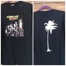 Hurricane Party UK Hard Rock band t-shirt  Roadstar Heaven's Basement RARE XXL