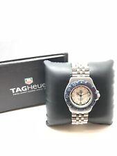 Genuine 1990s TAG Heuer Formula 1 WA1219 Quartz Steel Strap Watch, Original Box