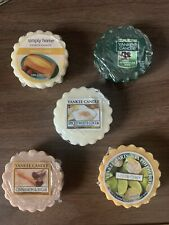 Yankee Candle Bundle Of 5 Wax Melts Round Tarts New