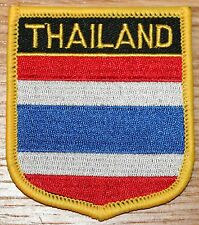 THAILAND Shield Country Flag Embroidered PATCH Badge P1