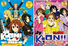 K-ON DVD (Season 1 1-12 End + 2 OVA + CD) + (Season 2 1-24 End + 2 OVA + CD)