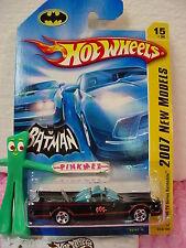 2007 Hot Wheels #15 '66 TV Series BATMOBILE 1966 ✰Batman✰New Models✰smooth