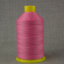 Incollato NYLON 12S 1.000 m V forte filati per cucire pelle rosa artigianato riparazione 12 TKT