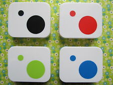 Big Dot and Tiny Dot Simply Contact Lens Case (4 colors)