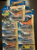 Lot of 9 Hot Wheels 2011 New Models  Unopened Packages