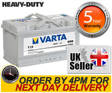 F18 Varta Silver Dynamic 110 Heavy Duty Car Battery 12V 85Ah - fits many VW etc