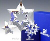 Swarovski Austria Crystal 863438 TWINKLING STARS CHRISTMAS ORNAMENT Mint Box COA