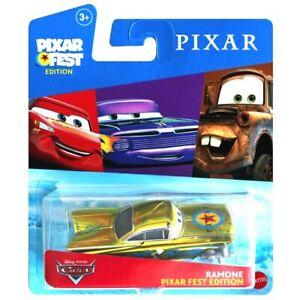 Disney Cars PIXAR FEST EDITION Metallic RAMONE 2020 RARE Mattel RARE